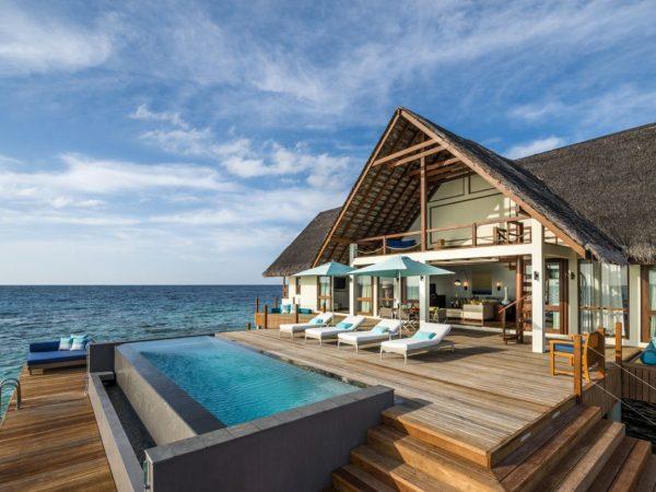 Four Seasons Resort Maldives at Landaa Giraavaru Baa Atoll 2 bedroom villa
