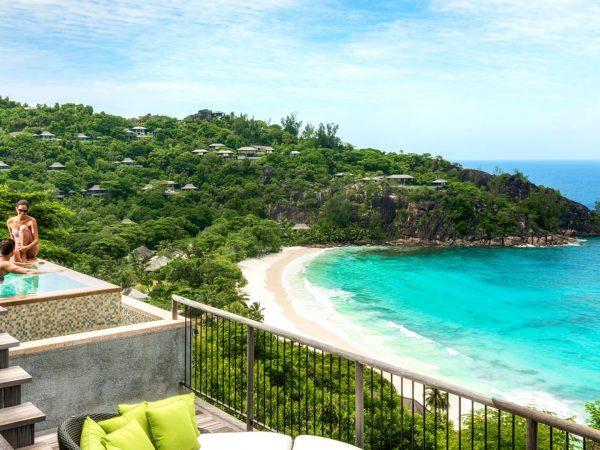 Four Seasons Resort Seychelles Beach Pool View