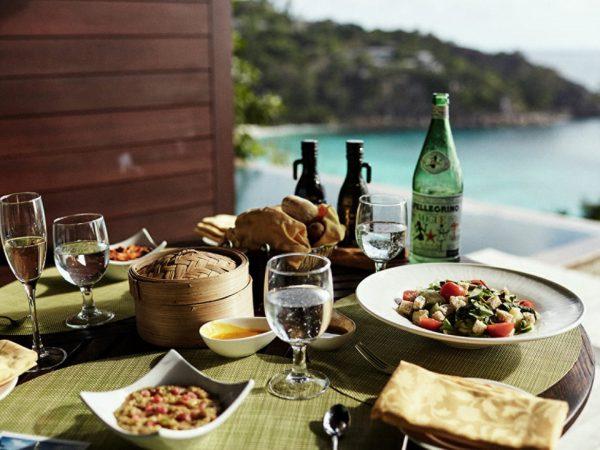 Four Seasons Resort Seychelles In Villa Dining