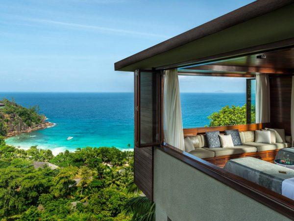 Four Seasons Resort Seychelles Ocean Lobby View