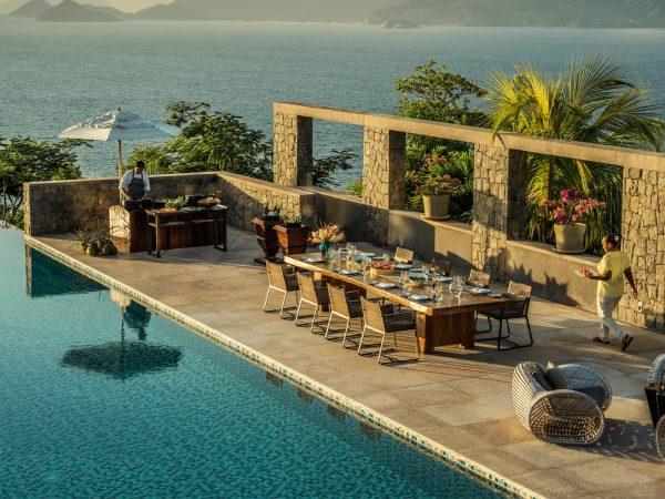 Four Seasons Resort Seychelles Ocean Pool