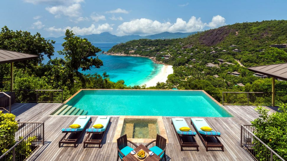 Four Seasons Resort Seychelles Two-Bedroom Hilltop Ocean View Suite