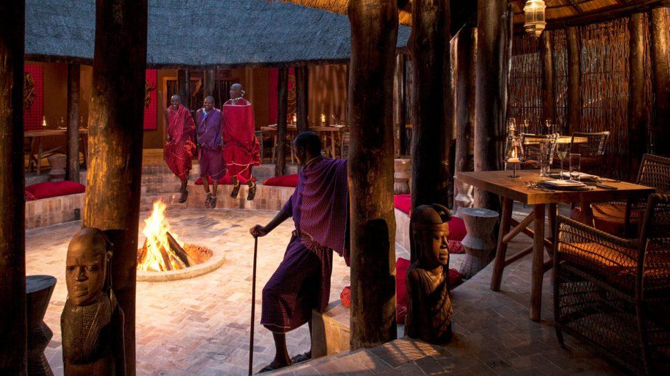 Four Seasons Safari Lodge Serengeti Boma Grill