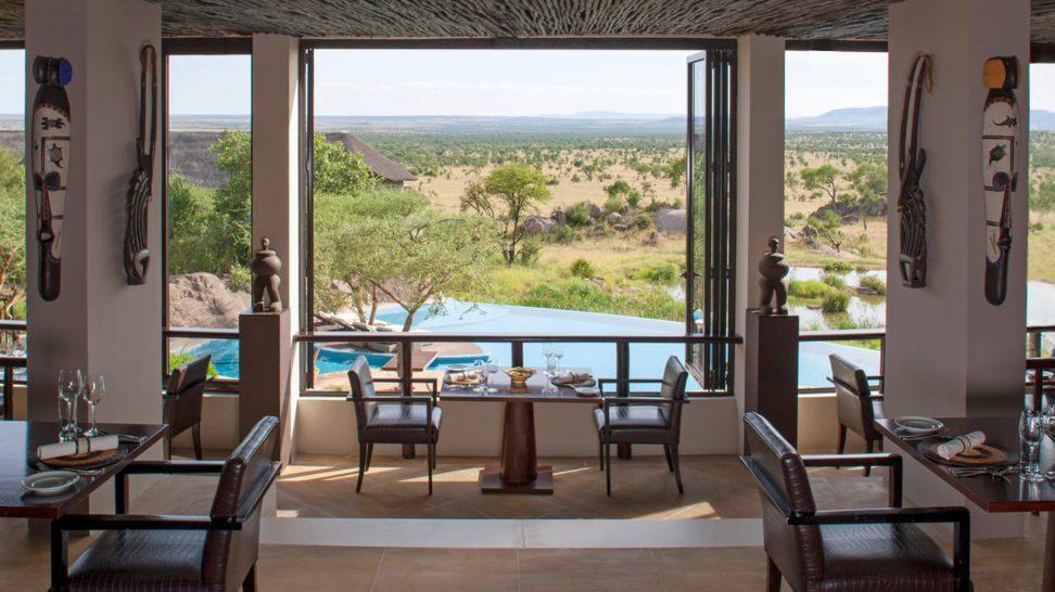 Four Seasons Safari Lodge Serengeti Kula's Restaurant