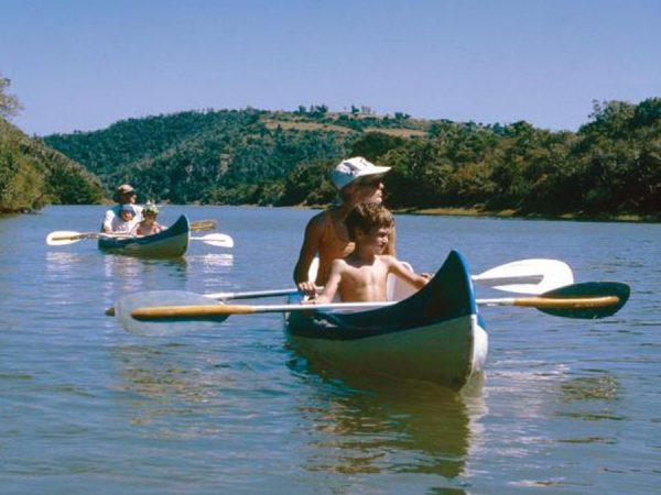 Kariega Game Reserve Canoeing