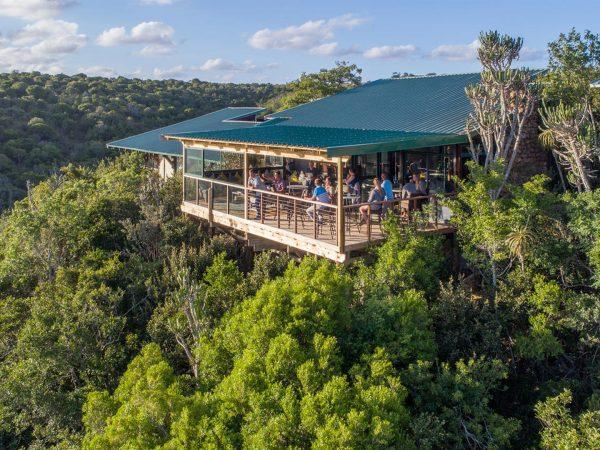 Kariega Game Reserve Main Lodge