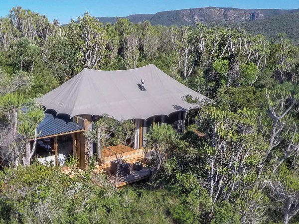 Kariega Game Reserve Top View