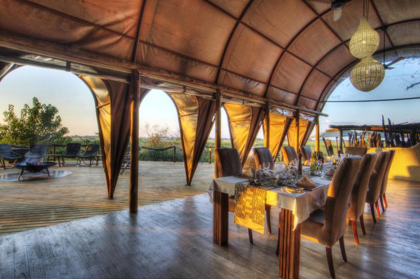Ker And downey Botswana Okuti Dinning Area