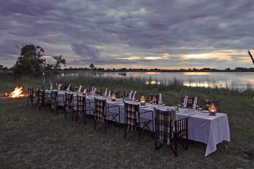 Ker And downey Botswana Shinde Bush Dinner