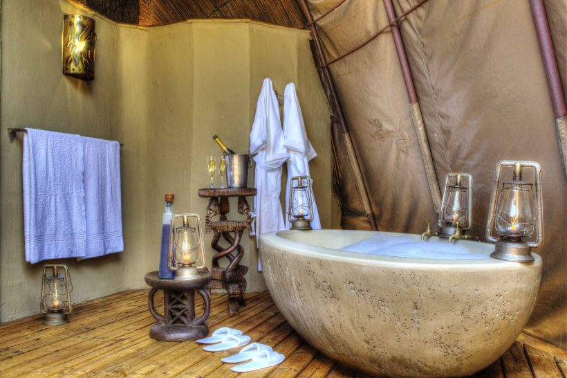 Ker and Downey Botswana Okuti Bathroom