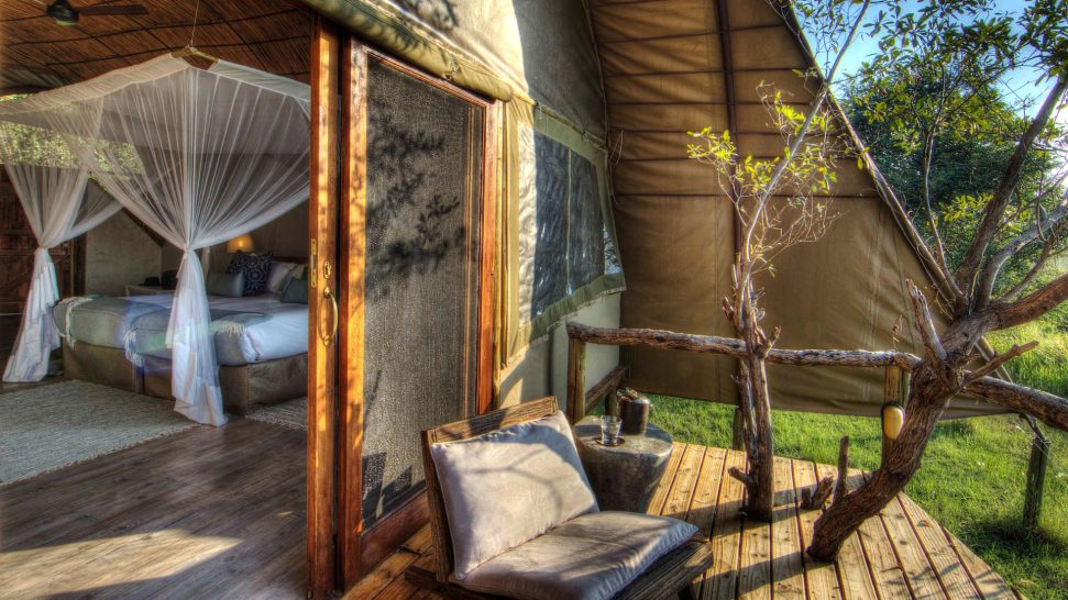 Ker and Downey Botswana Okuti Bedroom Room Deck