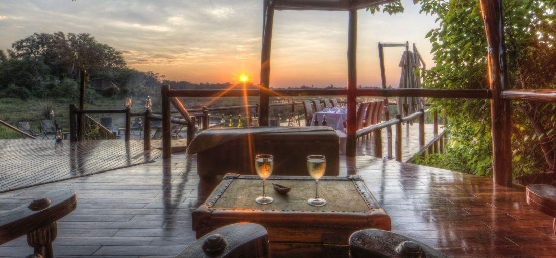 Ker and Downey Botswana Okuti Boma Sunset