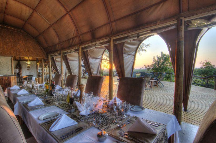 Ker and Downey Botswana Okuti Dining