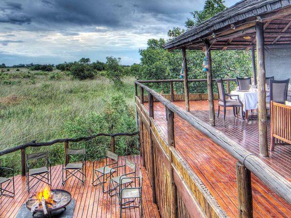 Ker and Downey Botswana Shinde Camp Dining