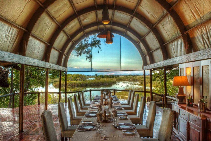 Ker and Downey Botswana Shinde Camp Dining Room