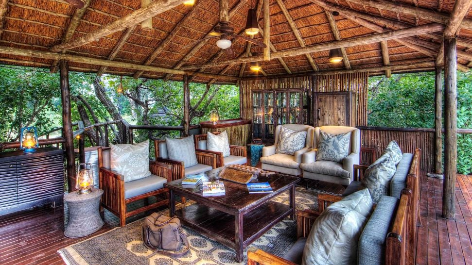Ker and Downey Botswana Shinde Camp Lounge