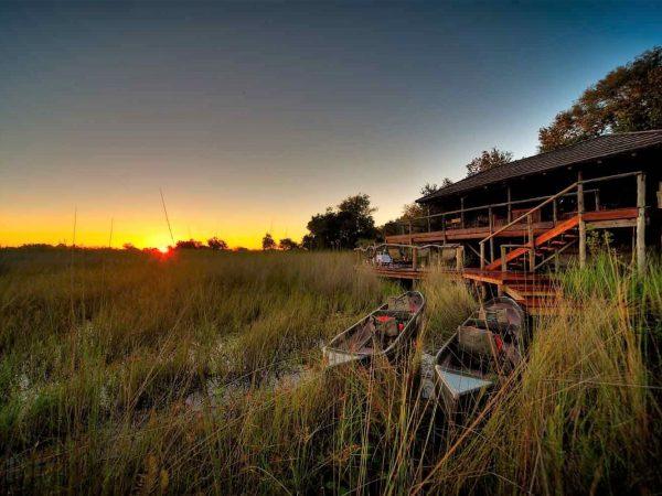 Ker and Downey Botswana Shinde Camp Sunset
