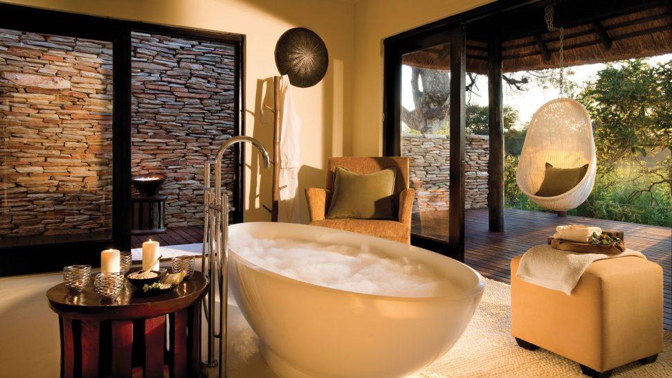 Lion Sands River Lodge Bathroom