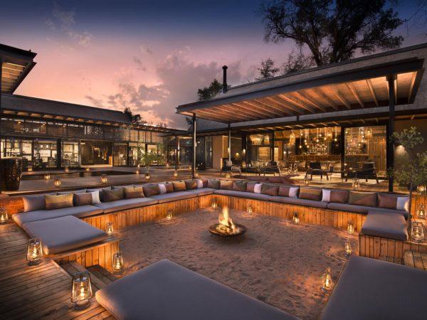 Lion Sands River Lodge Firepit Lounge