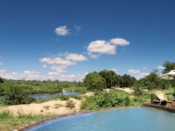 Lion Sands River Lodge Pool Panorama