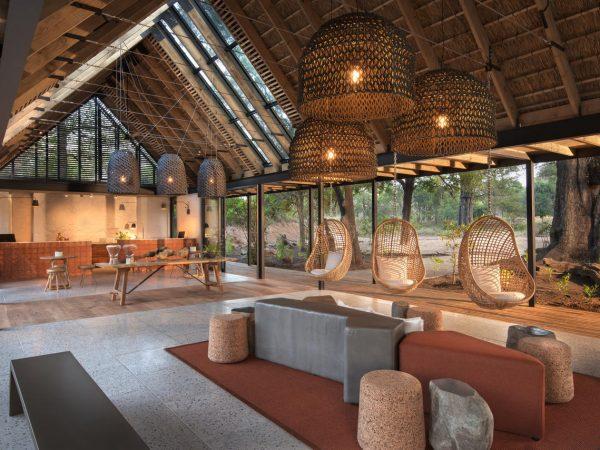 Lion Sands River Lodge Reception