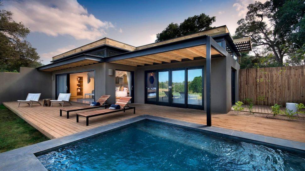 Lion Sands River Lodge River Suite Pool Deck
