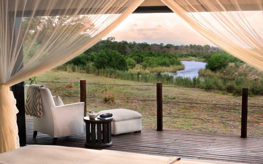 Lion Sands River Lodge Superior Luxury Suite Deck