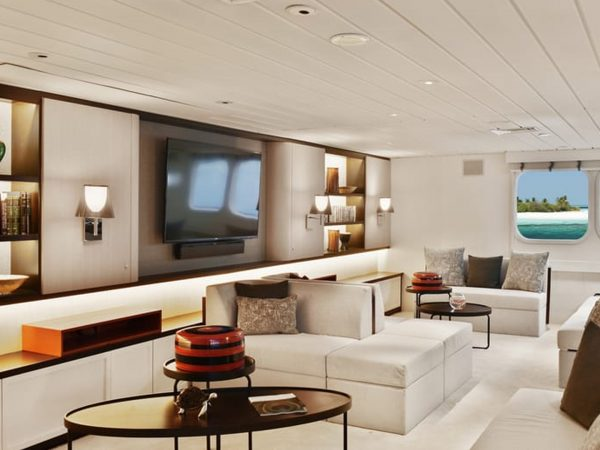 Four Seasons Maldives Explorer Cruise Living Room