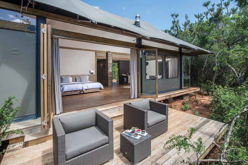 Kariega Game Reserve Luxury Safari Tent