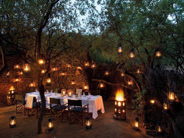 Madikwe Safari Lodge Boma dining