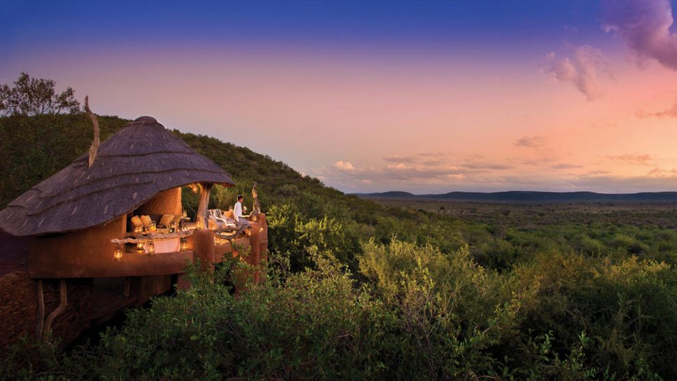 Madikwe Safari Lodge Lobby Exretior