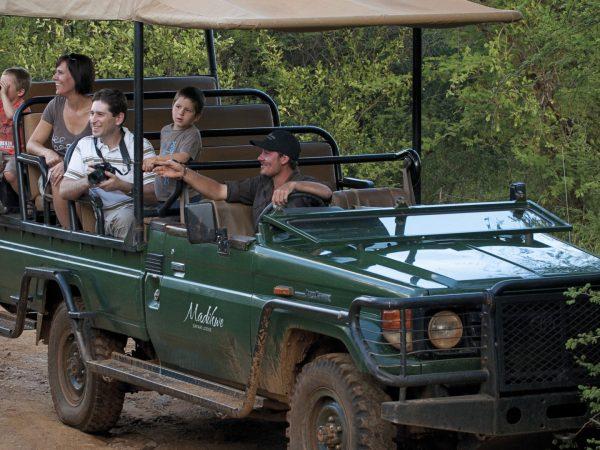 Madikwe Safari Lodge On safari with the family
