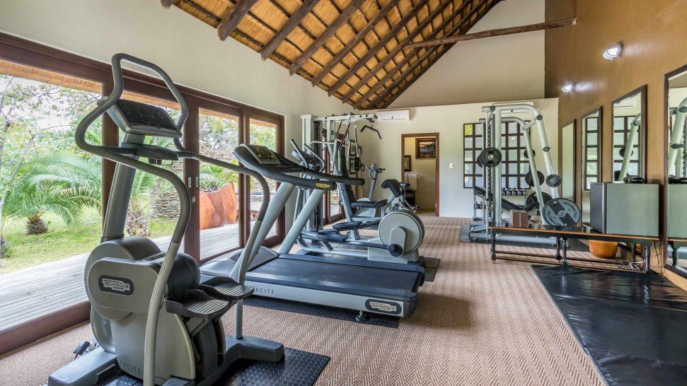 Makanyi Private Game Lodge Gym
