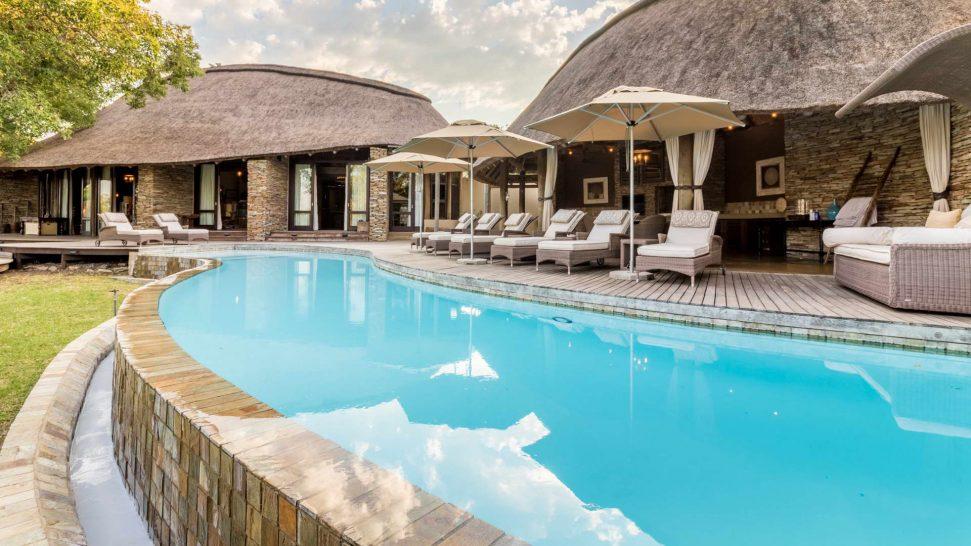 Makanyi Private Game Lodge Pool