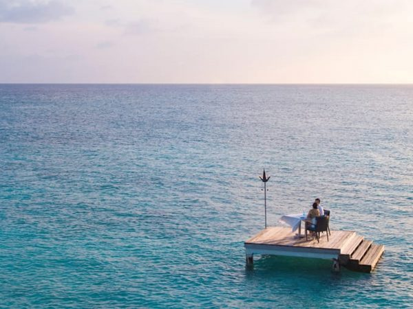 Maldives at Landaa Giraavaru Mid Ocean Table for Two
