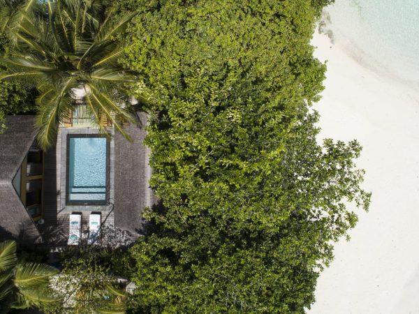 Maldives at Landaa Giraavaru Oceanfront Bungalow with Pool