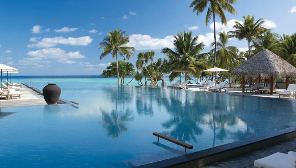 Maldives at Landaa Giraavaru Olympic size pool