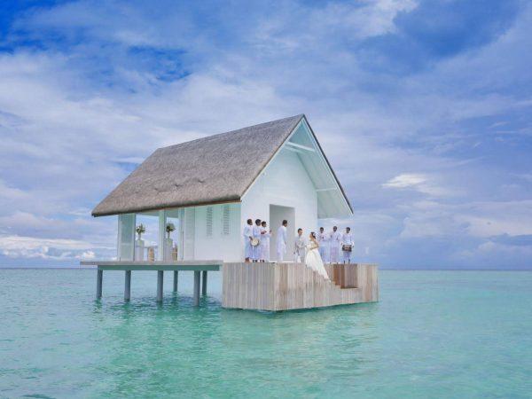 Maldives at Landaa Giraavaru Overwater Wedding Pavilion