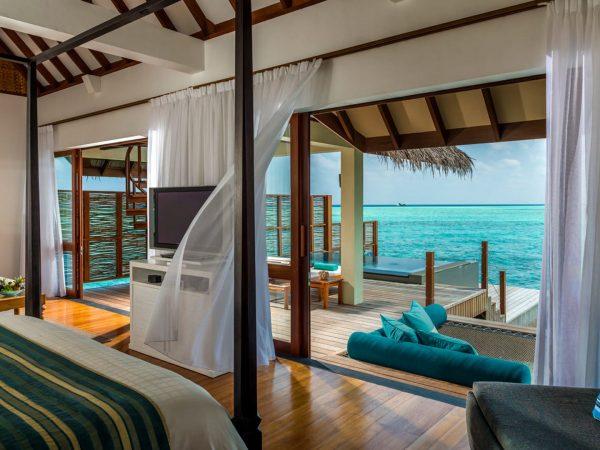 Maldives at Landaa Giraavaru Sunrise Water Villa with Pool