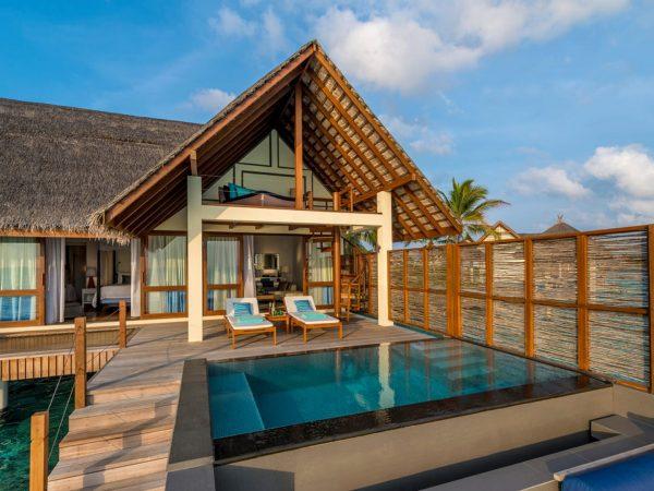 Maldives at Landaa Giraavaru Sunset Water Villa with Pool