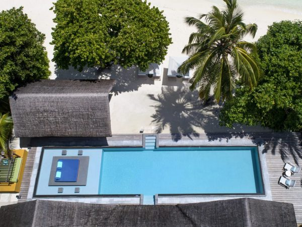 Maldives at Landaa Giraavaru Two-Bedroom Oceanfront Bungalow with Pool