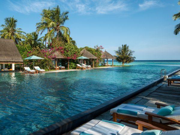 Maldives at Landaa Giraavaru four separate pool