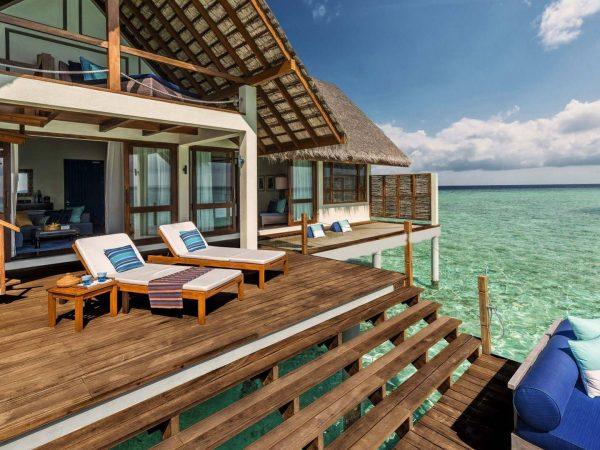 Maldives at Landaa Giraavaru private sundeck