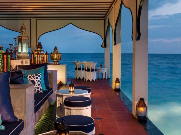 Maldives at Landaa Giraavaru shisha bar
