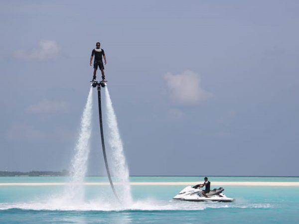 Maldives at Landaa Giraavaru water sport