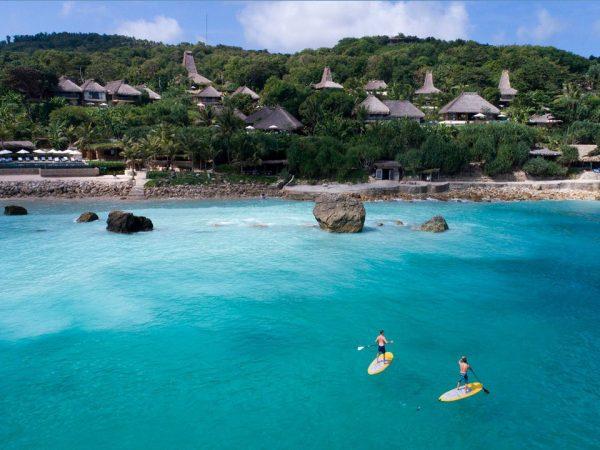 Nihi Sumba Indonesia Paddle Boarding