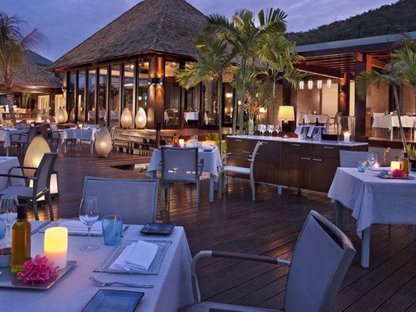 Raffles Seychelles Curieuse Restaurant