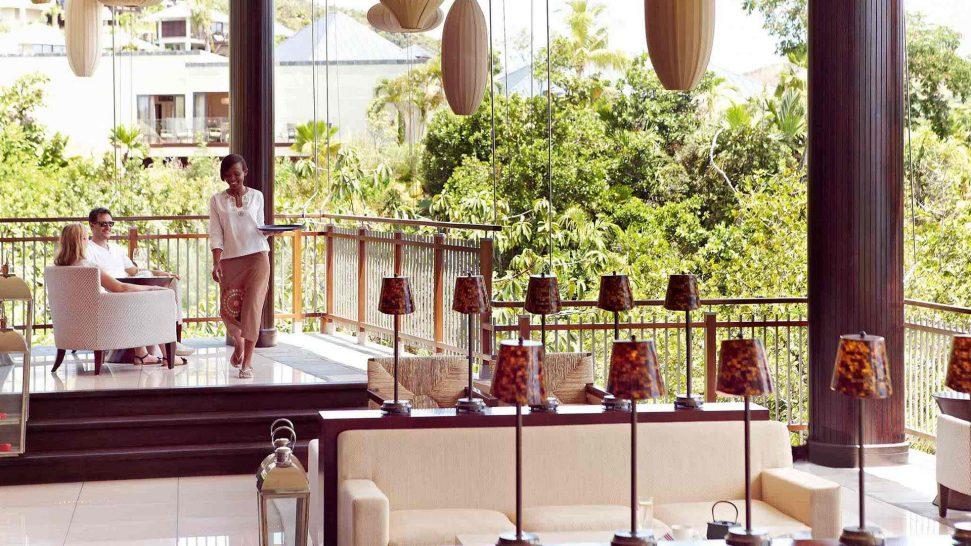 Raffles Seychelles Danzil Bar Lounge