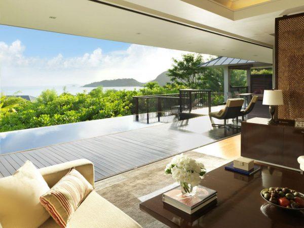 Raffles Seychelles Garden View Pool Villa