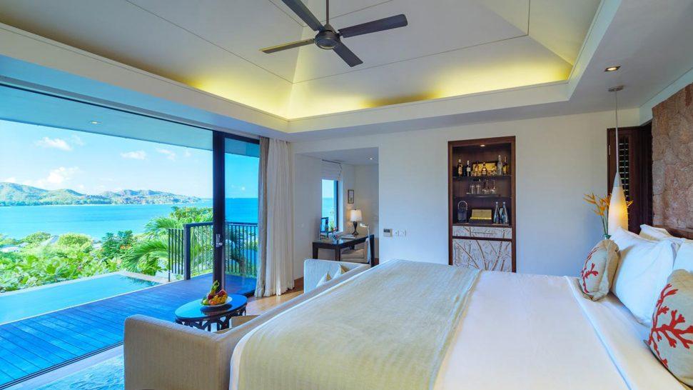 Raffles Seychelles Ocean View Pool Villa
